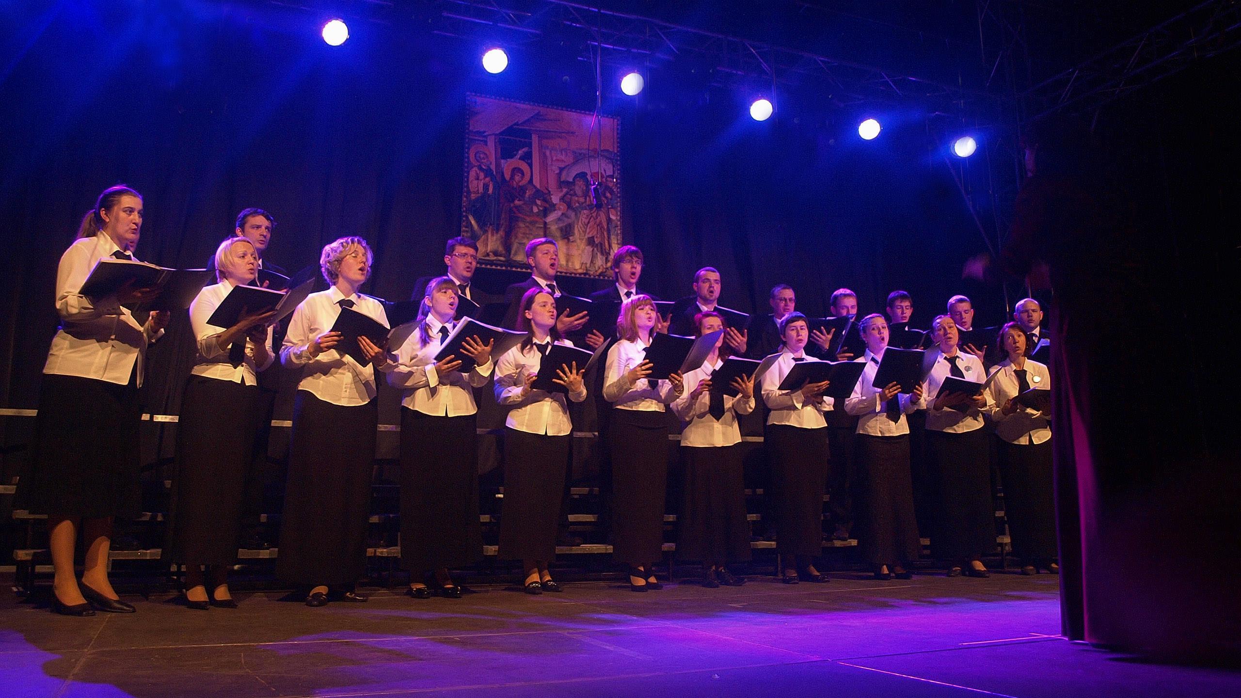Chór Soboru Zmartwychwstania Pańskiego z Brześcia (Białoruś)