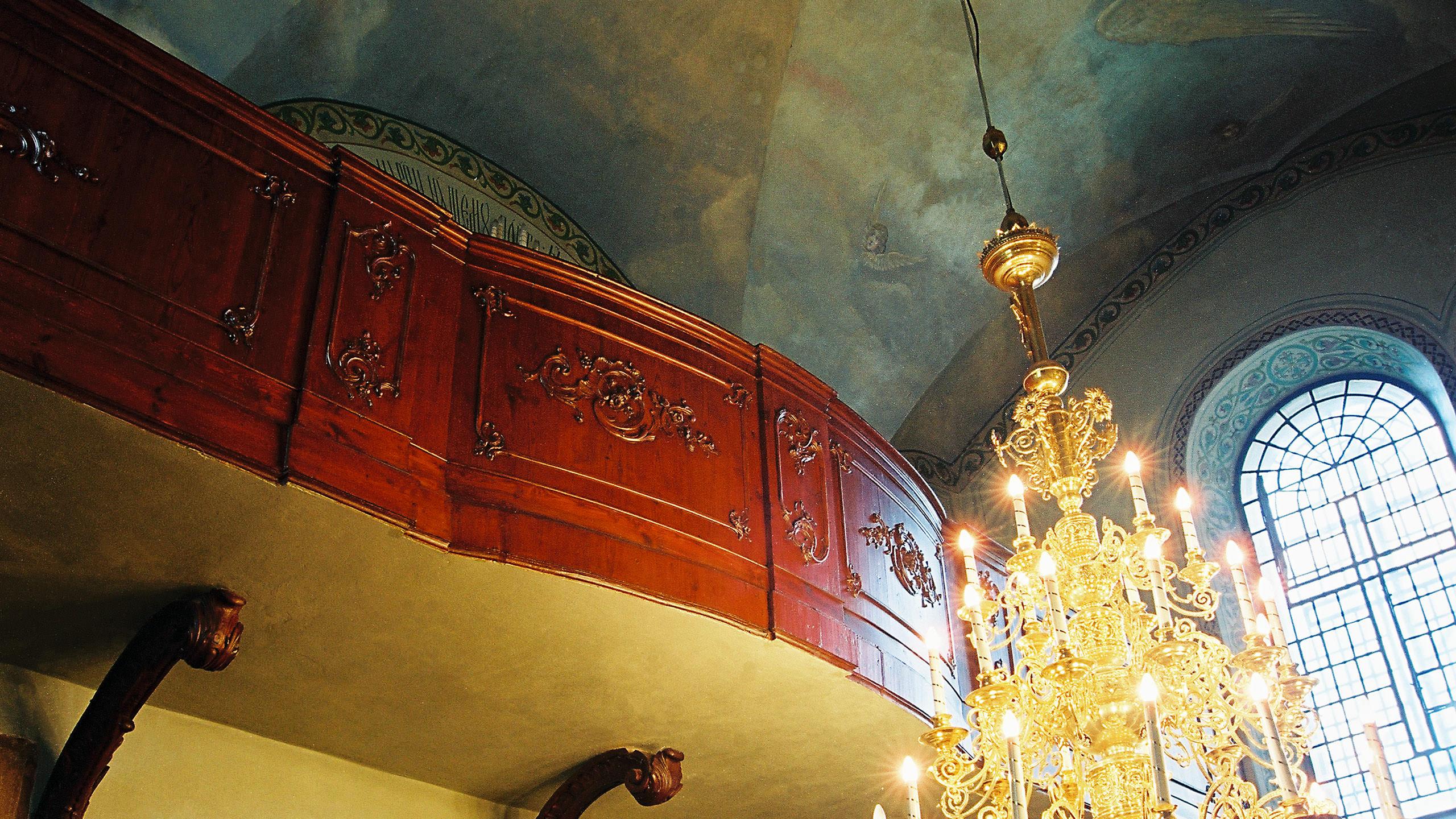 Chór katedray prawosławnej pw. Przemienienia Pańskiego w Lublinie