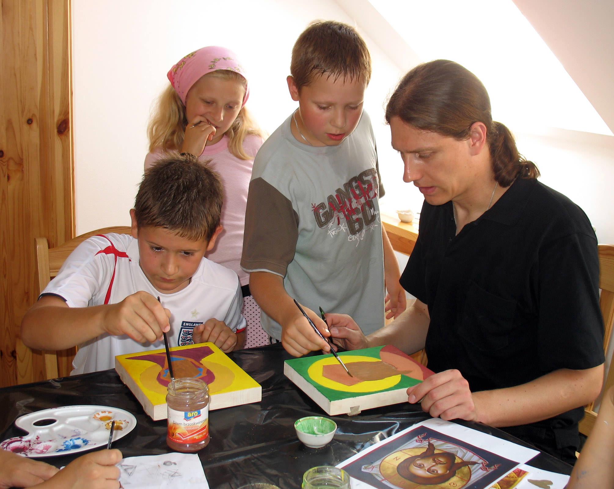 Warsztaty ikonograficzne prowadzi Jan Grigoruk