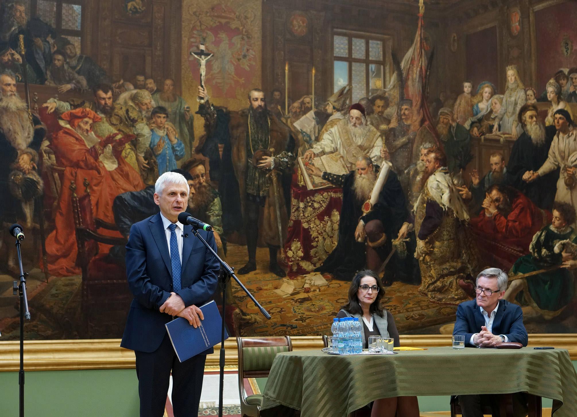 Wykład prof. dr hab. Krzysztofa Leśniewskiego