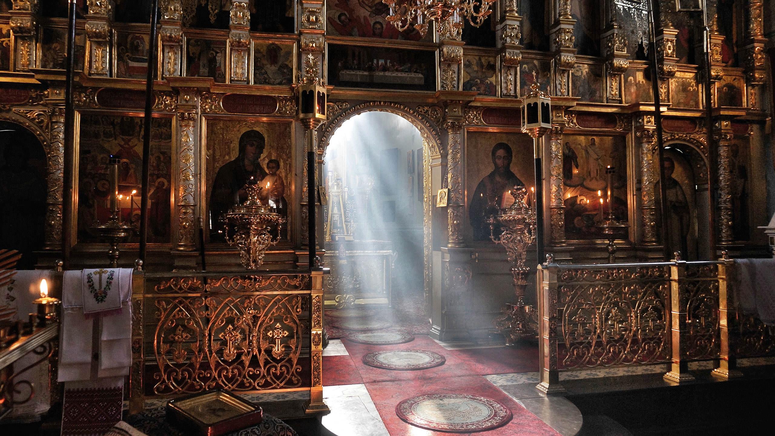 Ikonostas katedry prawosławnej w Lublinie