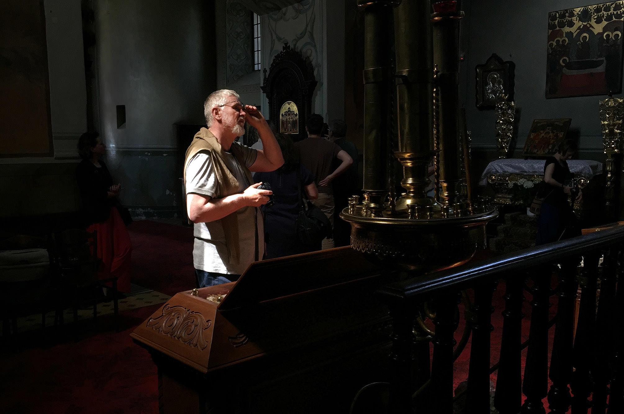 Warsztaty fotograficzne w Katedrze Prawosławnej pw. Przemienienia Pańskiego w Lublinie