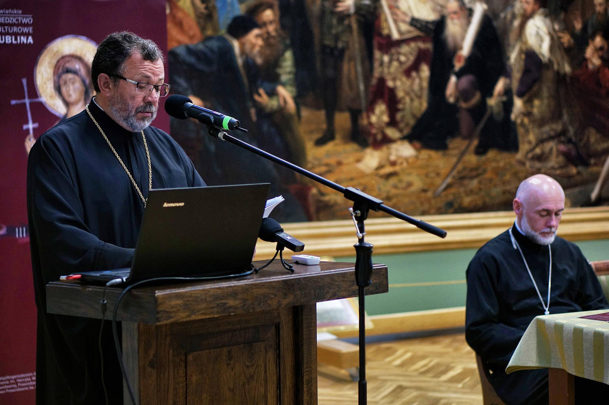 Wykład głosi ks. dr Anatol Szymaniuk