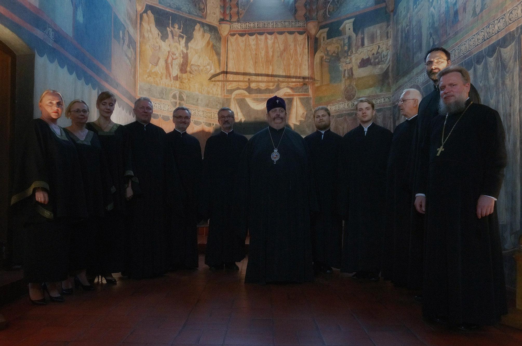 """Koncert chóru """"Oktoich"""" w kaplicy Trójcy Świętej na Zamku Lubelskim"""