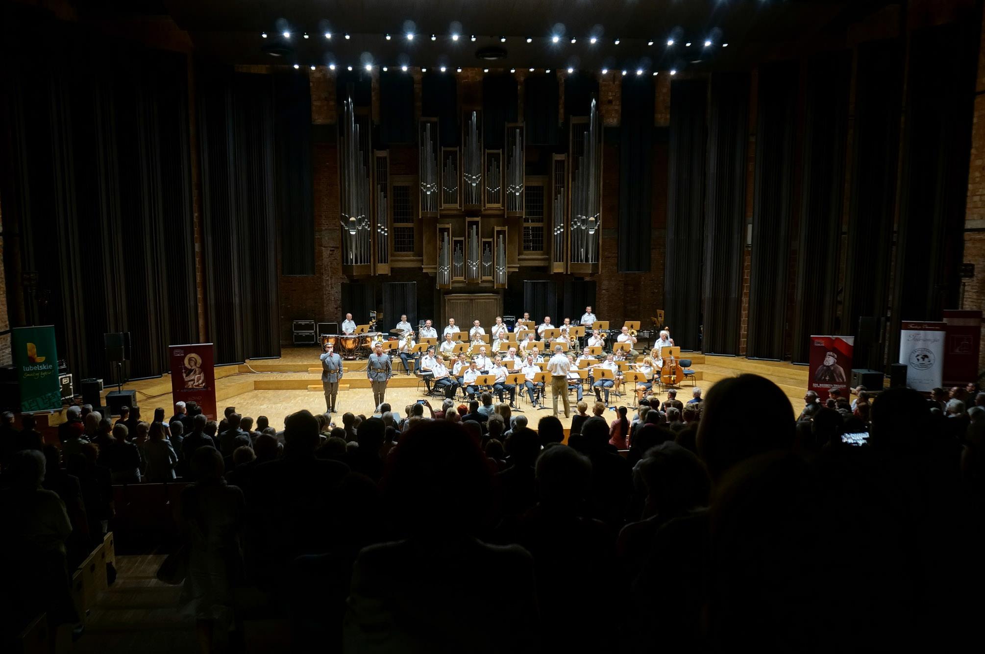 Reprezentacyjny Zespół Artystyczny Wojska Polskiego na koncercie galowym III edycji festiwalu