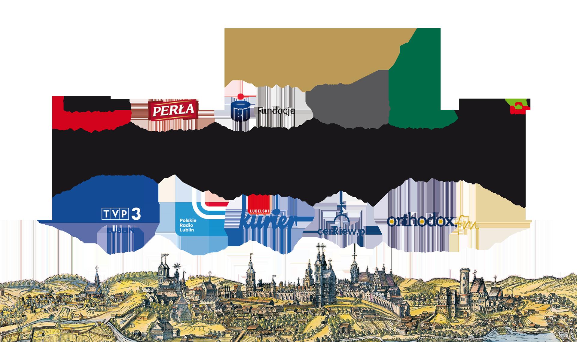 """Partnerzy festiwalu """"Wschodniosłowiańskie dziedzictwo kulturowe Lublina"""" w 2019 roku"""