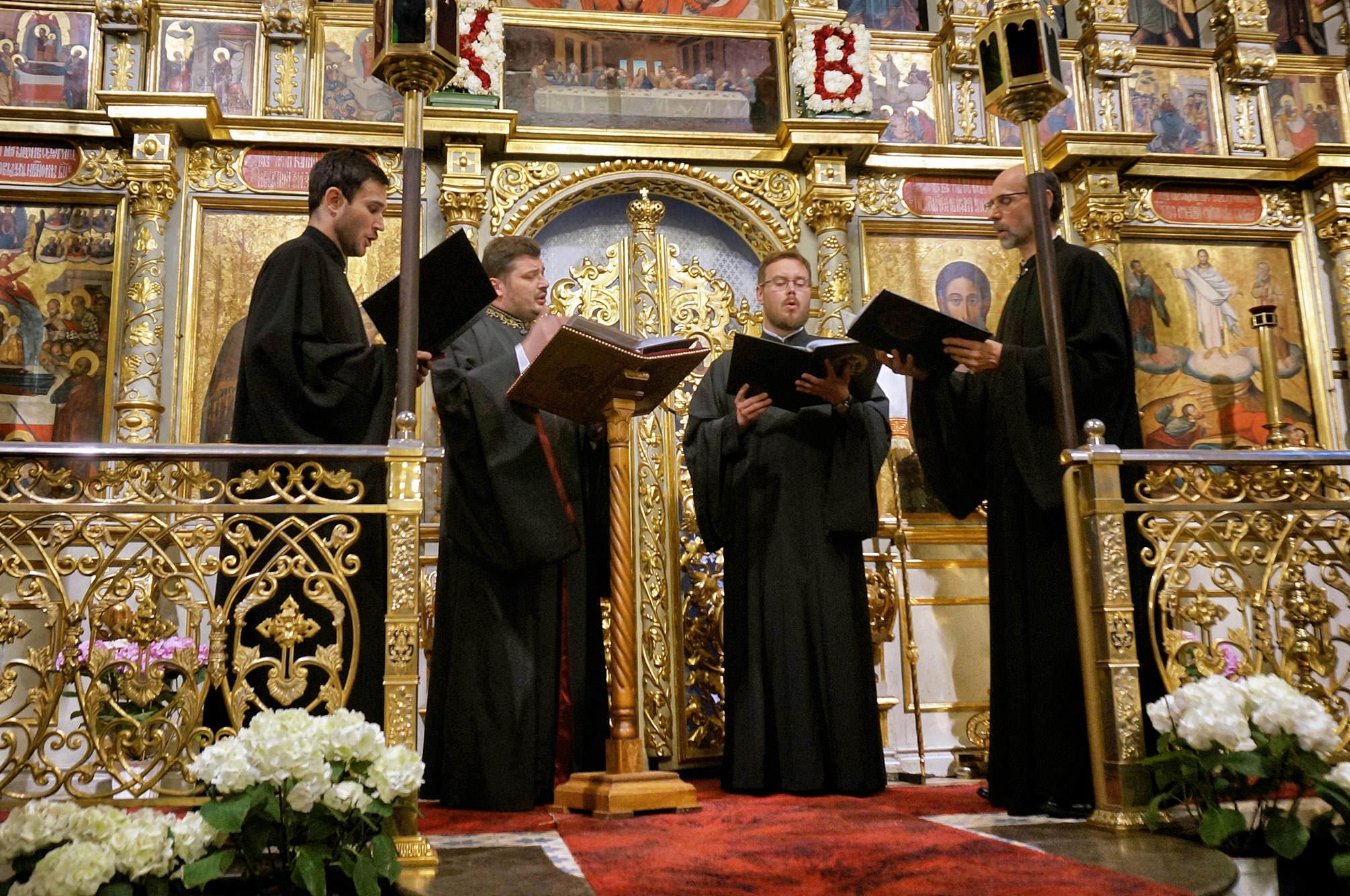 Koncert w lubelskiej katedrze Męskiego Chóru Kameralnego im. Bogdana Onisimowicza